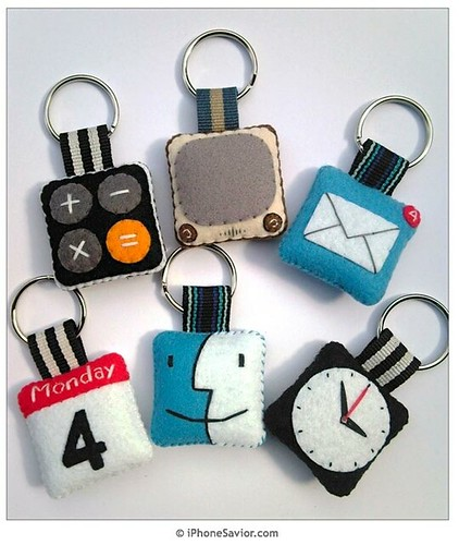 iPhone iCon Key Chains
