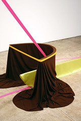 """""""Bow-bow"""" (Katy Heinlein) Tags: sculpture fabric cloth straps draping"""