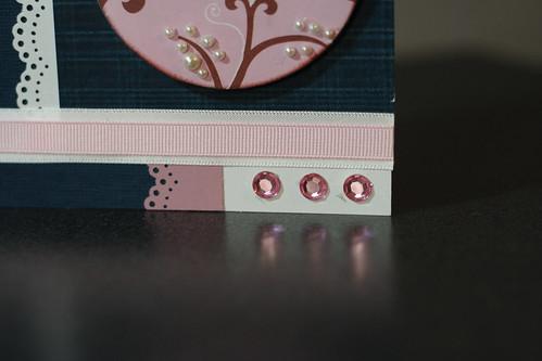 Blue-pink card20004
