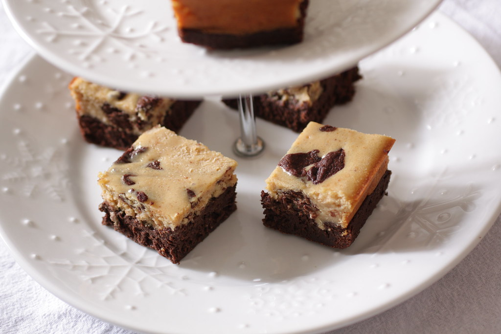 My Madison Bistro » Peanut Butter Cheesecake Brownies