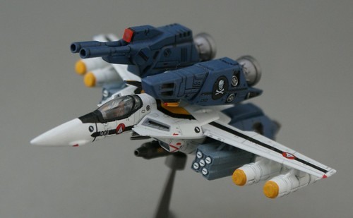 Macross DYRL? 1/144 Strike Valkyrie VF-1S - Roy Focker - 4