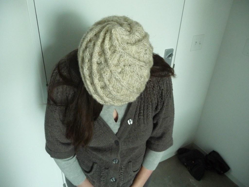 Vanilla Bean Spiral Hat