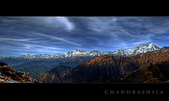 from Chandrashila...the panorama to the North-West (CoSurvivor) Tags: sunset panorama mountains trekking landscape wildlife peak uttaranchal hdr sanctuary garhwal kedarnath uttarakhand tungnath chopta mahalaya cosurvivor mandani chaukhamba kedardome nandadevibiospherereserve chandrahila