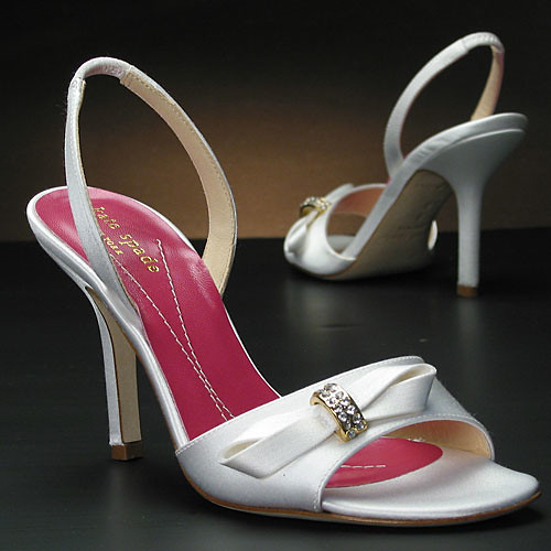 Beautiful decoration for wedding shoes