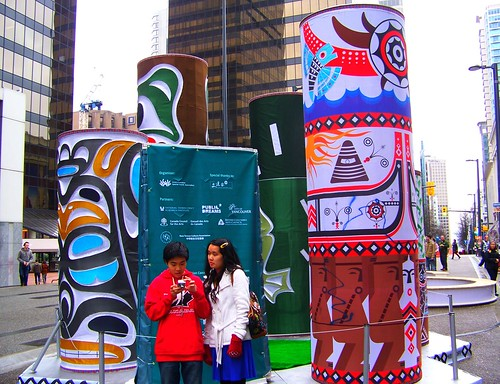Vancouver downtown Olympics