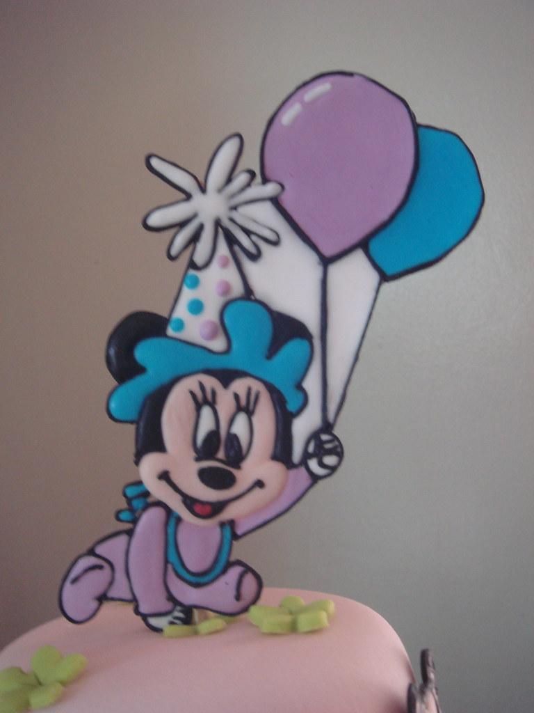 Disney Babies Baptism Cake