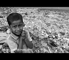 Impatience (fRoM.tHe.ZeRo (http://atikullah.blogspot.com/)) Tags: boy bw white black eye standing photo eyes hands child profile innocent bin ttl babu bacca chele recicle infent nikond60 balok atikullah atikullahsayeed dudtbin