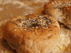 irish vegan bagels chiaseeds