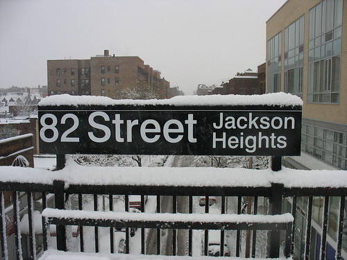 82nd Street subway sign