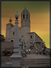 IGLESIA DE SAN BARTOLOME (SITGES) (((((((-charly-)))))) Tags: canon atardecer antigua imagenes sitges pueblos cataluña 450d platinumphoto vosplusbellesphotos travelsofhomerodyssey
