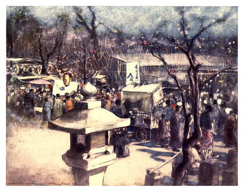 018-Un dia de fiesta-Japan  a record in color-1904- Mortimer Menpes