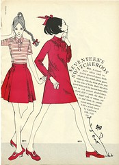 seventeen switcheroos (Millie Motts) Tags: fashion vintage sewing mccalls