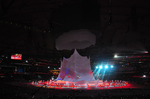 2010 vancouver olympics opening ceremony vs 2008 beijing olympics