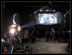 chinese new year - the film (Xuan Che) Tags: 2005 china city winter history film festival vintage movie spring silent capital beijing newyear historical tradition february canonixus400 miaohui changdian