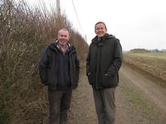 Derek Taylor & Martin Tod discuss wind turbines