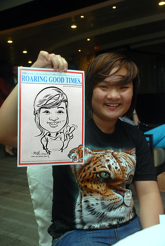 Caricature live sketching for Informa Group -4