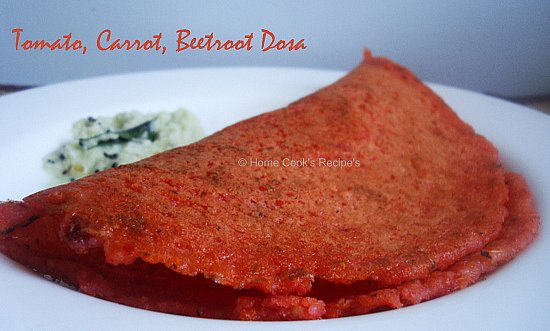 Red Colour Dosai