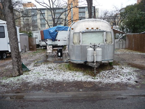 big vintage airstream.