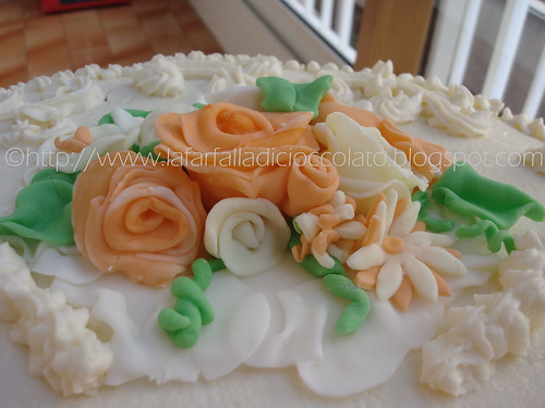 Torta Delizia decorata