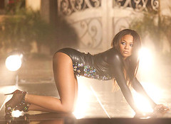 Teairra Mari sponser video shoot
