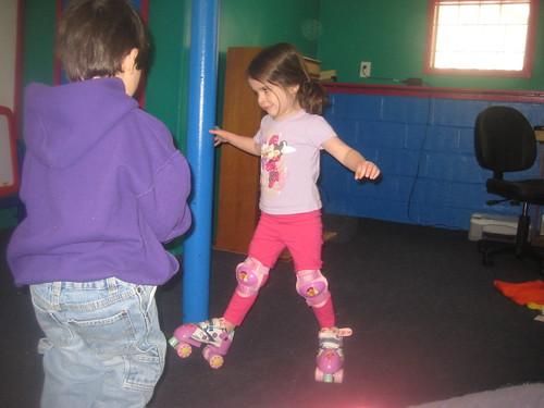 Bethany skating