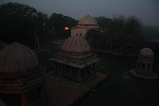 Dawn in Delhi