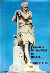 CARTEL CONCURSO INT. ESCULTURA