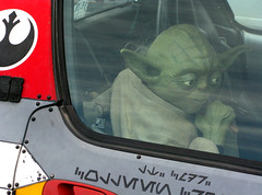 And Yoda in the Passenger Seat