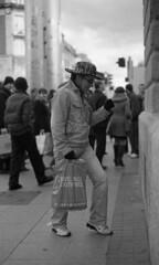 Dancing Dan's Street Show 4/20 (Anthony Cronin) Tags: ireland dublin film analog 35mm nikon kodak 11 ishootfilm ilfordhp5 drugs drunks hp5 nikkor spectators ac apug ilford onlookers nikonf80 xtol streettheatre dubliners 50mmf14d dublinstreet dancingdan ilfordhp5400 dublinstreets ©allrightsreserved dublinlife streetsofdublin irishphotography onlyinireland lifeindublin kodakxtol pureirish filmisnotdeaditjustsmellsfunny irishstreetphotography y48filter irishstreets dublinstreetphotography streetphotographydublin shuttercrack anthonycronin wwwcfyecom livingindublin insidedublin livinginireland streetphotographyireland dublinjunkies filmdev:recipe=5424 irishcharacters streetjunkies tpastreet photangoirl