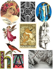Week 69 elements for Collage Play with Crowabout group on Flickr (briedah) Tags: collage for flickr play elements week 69 goup