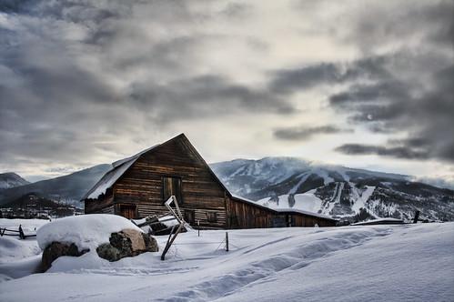 Steamboat barn