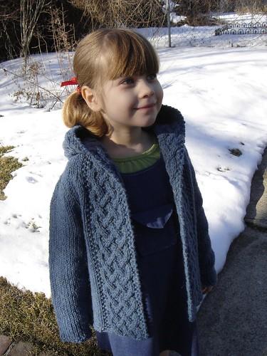 Arwen-inspired kid's cardi 5