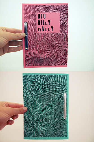 Zine: UFO Dilly Dally - Cover I