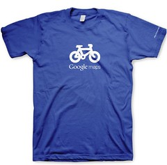 Googlers Bike Map Shirt