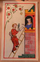 codice di Manesse (Faber de Spante) Tags: miniature tempera conchiglie pergamena lapislazzuli bluoltremare codexmanesse temperaalluovo colorimedievali
