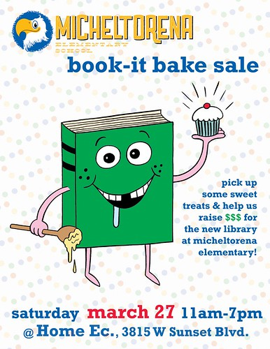 Book-It Bake Sale - Johnny Ryan