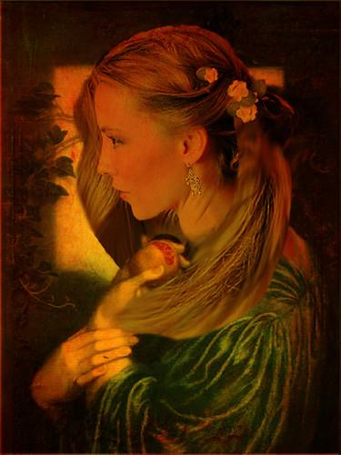 Fair Version of Rossetti's Proserpine