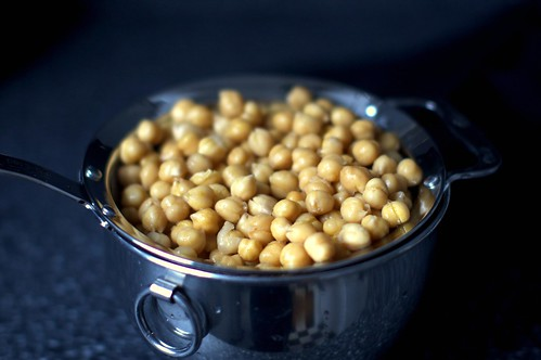 chickpeas, from the slow cooker