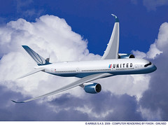 A350-900 de UNITED