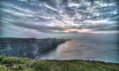 Cliffs of Moher  Edge of the World (janusz l) Tags: ireland grass saint geotagged happy day rocky cliffs shore hdr moher pattys edgeoftheworld janusz leszczynski stpatricks 001919 geo:lat=52936111 geo:lon=9470833