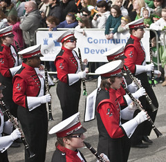 North Carolina State University Marching Band - Best Band In Parade. (infomatique) Tags: ireland dublin streets festival band patrick marching stpatrick stpatricksday 2010 stpatricksfestival bestband dublinstreets streetsofdublin infomatique northcarolinastateuniversitymarchingband stpatricksfestival2010 tpatricksfestival2010