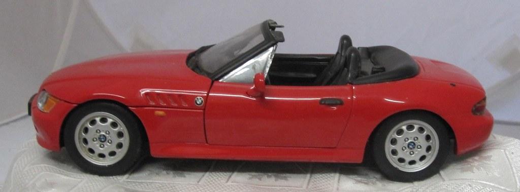 2001 BMW Z3 Sports left