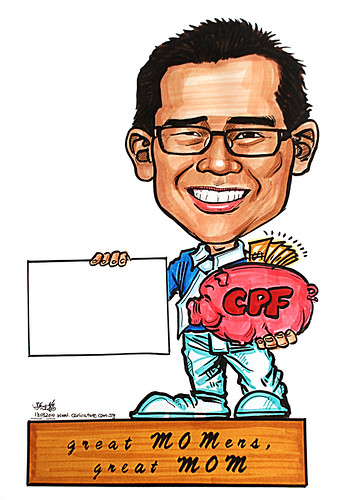 Caricature for Ministry of Manpower - 4