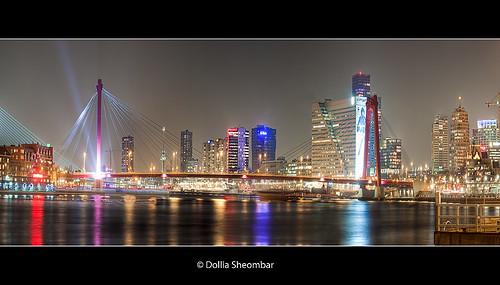 Rotterdam - Manhattan aan de Maas ::HDR