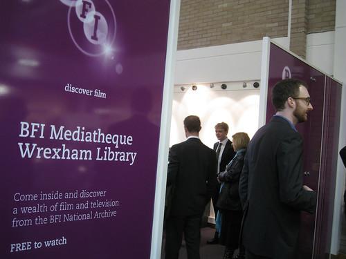 bfi Mediatheque, Wrexham Library