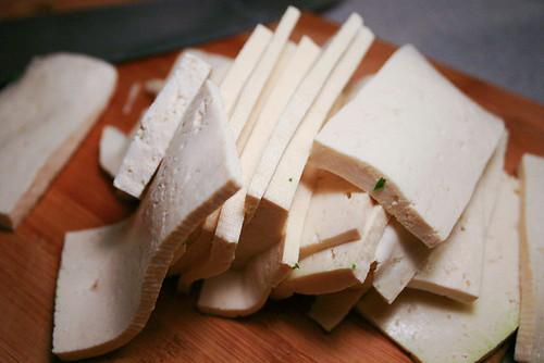 tofu slabs