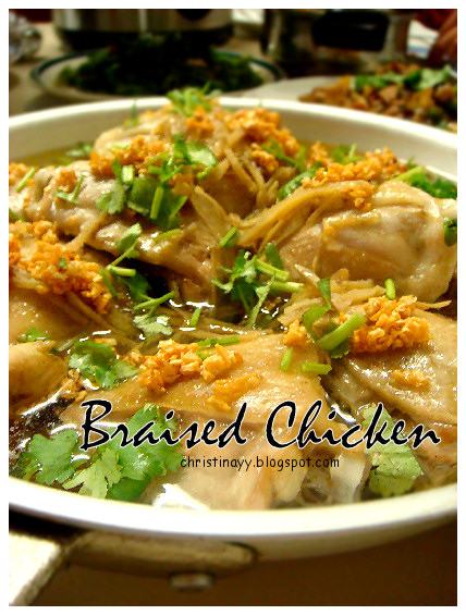 Asian Cooking: Braised Chicken