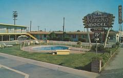 Yosemite Rancho Motel - Fresno, California (Jordan Smith (The Pie Shops)) Tags: california vintage postcard motel fresno yosemite rancho