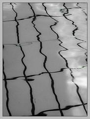 Unruhe (sulamith.sallmann) Tags: blue abstract berlin texture sports wet water pool sport deutschland wasser bleu blau fitness 2008 hellblau freizeit deu surfaces berlinwedding abstrakt nass schwimmhalle schwimmbad oberflche texturen textur feucht sulamithsallmann sportsttten