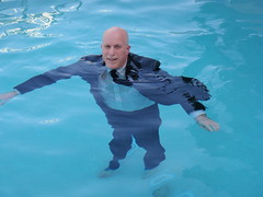 "San Diego trip - The water is nice and it's a suit so that works for a swim ""suit"" (Mr. Muddy Suitman) Tags: sandiegotrip"